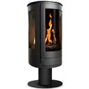Oak Stoves Serenita Pedestal Freestanding Balanced Flue Gas Stove