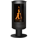 Oak Stoves Spa Pedestal Freestanding Balanced Flue Gas Stove