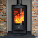Oak Stoves Zeta 10 Compact Freestanding Multifuel Wood Burning Stove