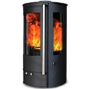 Oak Stoves Zeta 5 Compact Freestanding Multifuel Wood Burning Stove