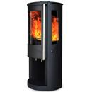 Oak Stoves Zeta 5 Log Store Freestanding Multifuel Wood Burning Stove