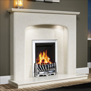 Orial Fires Maxima Marble Surround