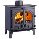 Parkray Stoves Consort 5 Slimline Multi Fuel Wood Burning Stove