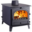 Parkray Stoves Consort 7 Double Sided DD Multi Fuel Wood Burning Stove