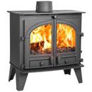 Parkray Stoves Consort 9 Slimline Multi Fuel Wood Burning Stove