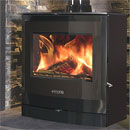 Portway 2 Curved Glass Multi-Fuel Stove