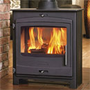 Portway 2 Double Sided Contemporary Multi-Fuel Stove