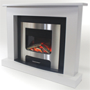 Pure glow XP10 Lydia Illusion Electric Fireplace Suite