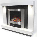 Pure Glow XP20 Lydia Illusion Electric Fireplace Suite