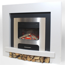 Pure Glow XP30 Lydia Illusion Electric Fireplace Suite