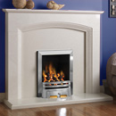Pure Glow Ashton Full Depth Gas Fireplace Suite