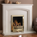 Pure Glow Ashton Slimline Gas Fireplace Suite