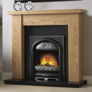 Pure Glow Ludlow Oak and Juliet Electric Fireplace Suite