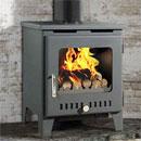 Rofer and Rodi Stoves Merida Anthracite Multifuel Wood Burning Stove