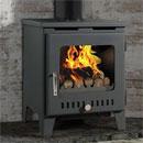 Rofer and Rodi Stoves Merida Black Multifuel Wood Burning Stove