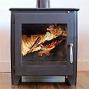Saltfire Stoves ST1 Vision Wood Burning Stove