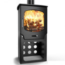 Saltfire Stoves ST-X5 Tall Multifuel Wood Burning Stove