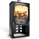 Saltfire Stoves ST-X8 Tall Multifuel Wood Burning Stove