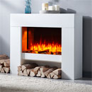 Apex Fires Clermont Freestanding Electric Suite