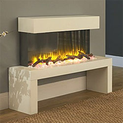 Signature Fireplaces Colorado Freestanding Electric Suite