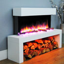 Apex Fires Colorado Freestanding Electric Suite