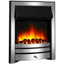 Apex Fires Houston Chrome Inset Electric Fire