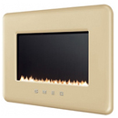 Smeg L30FAB Cream Retro Flueless Gas Fire