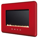 Smeg L30FAB Red Retro Flueless Gas Fire