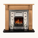 Gallery Fireplaces Sovereign Tiled Cast Iron Insert