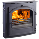 Hunter Telford 8 Inset Multi Fuel Woodburning Stove