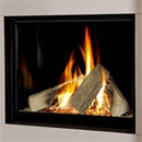 Verine Celena HE Trimless Gas Fire Black Interior (MK 2)