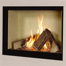 Verine Celena HE Trimless Gas Fire Cream Interior (MK 2)