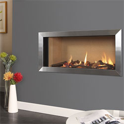 Verine Eden Elite HE Slimline Hole in the Wall Gas Fire