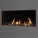 Kinder Fires Eden Elite HE Slimline Trimless Hole in the Wall LPG Gas Fire
