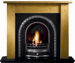 Gallery Fireplaces Henley Cast Arch Solid Fuel Package